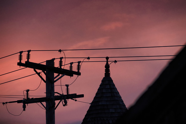 Evening Light--Johnson St