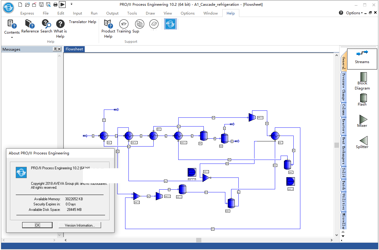 Working with AVEVA SimSci PRO - II Process Engineering 10.2 full