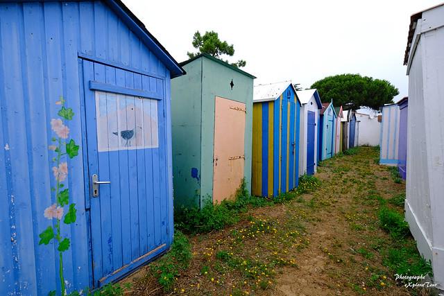 Cabanes de Plage de La Boirie
