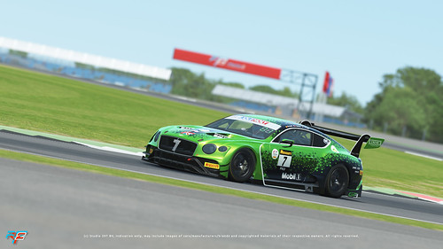 rFactor 2 - Bentley Continental GT3 - Side