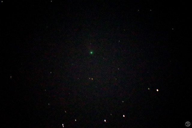Comet NEOWISE on July 31, 2020 - Smoked