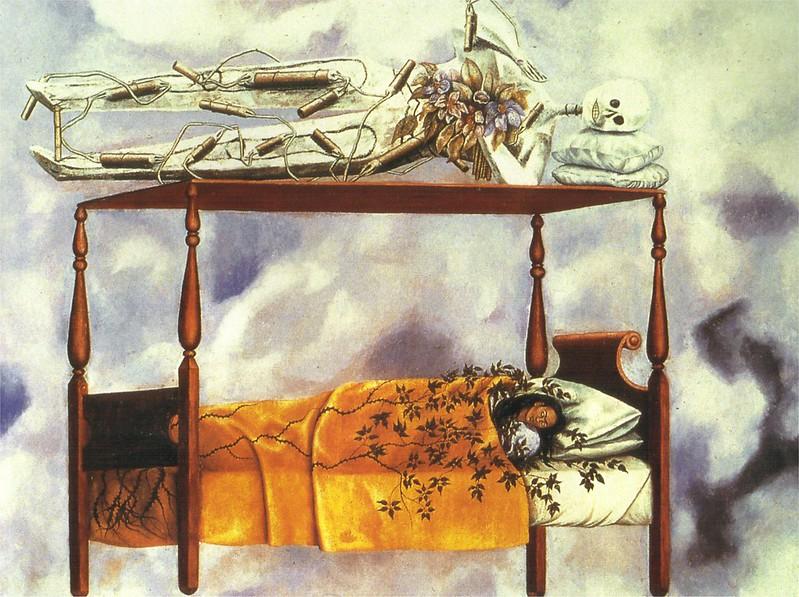 Фрида Кало, Сон (Кровать), 1940