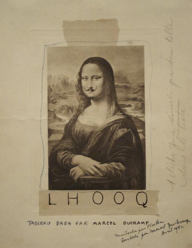 Marcel Duchamp, L.H.O.O.Q.jpg, 1919