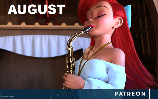 Patreon - August