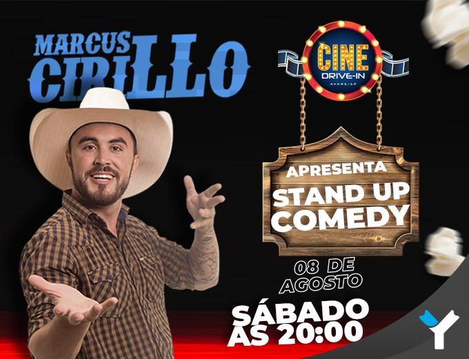 CINE DRIVE-IN  Stand Up Comedy - Marcus Cirillo