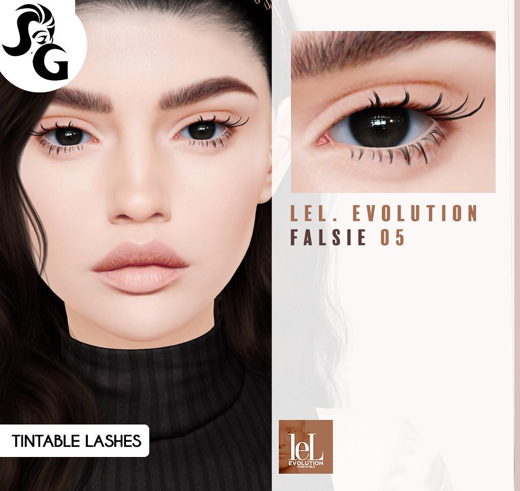 LeL Evolution Eyelashes 05 @ Darkness Monthly Event