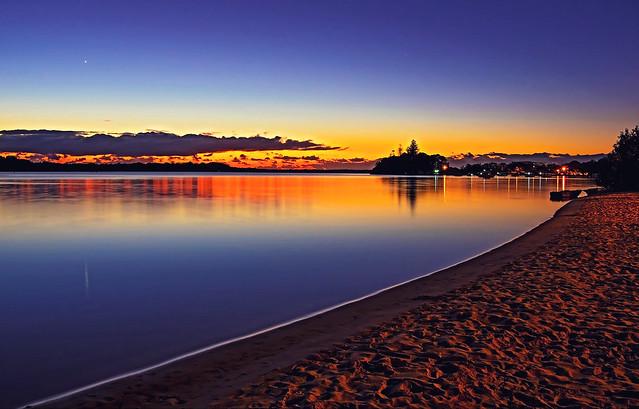 Sunrise on the River. Week 25/52