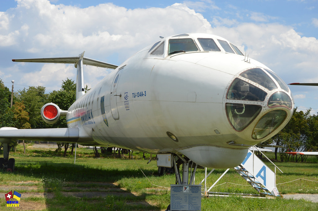 Tupolev Tu-134 UAF