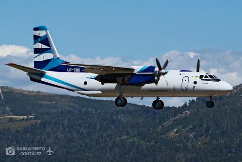 UR-CQD (Vulkan Air) Antonov An-26B