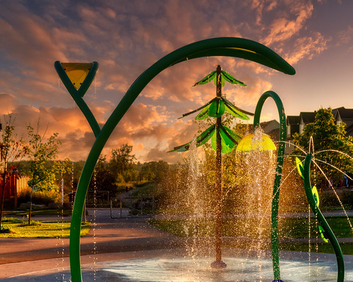 Splash-pad at Northview Park. | by Photos by Olar