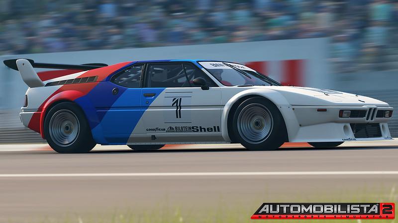 Automobilista 2 - BMW M1 Procar