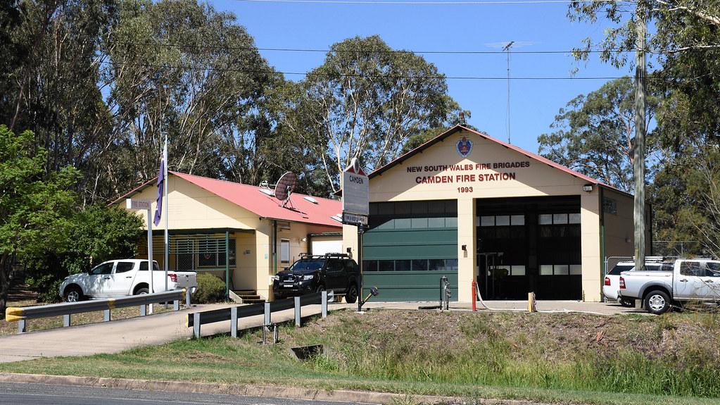 Fire Station, Camden, Sydney, NSW.