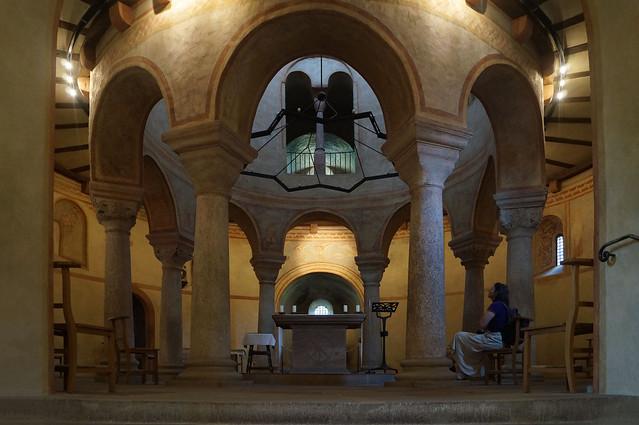 2020-07-20 140; Deutschlandtour; Fulda, Michaelskirche, Innenraum
