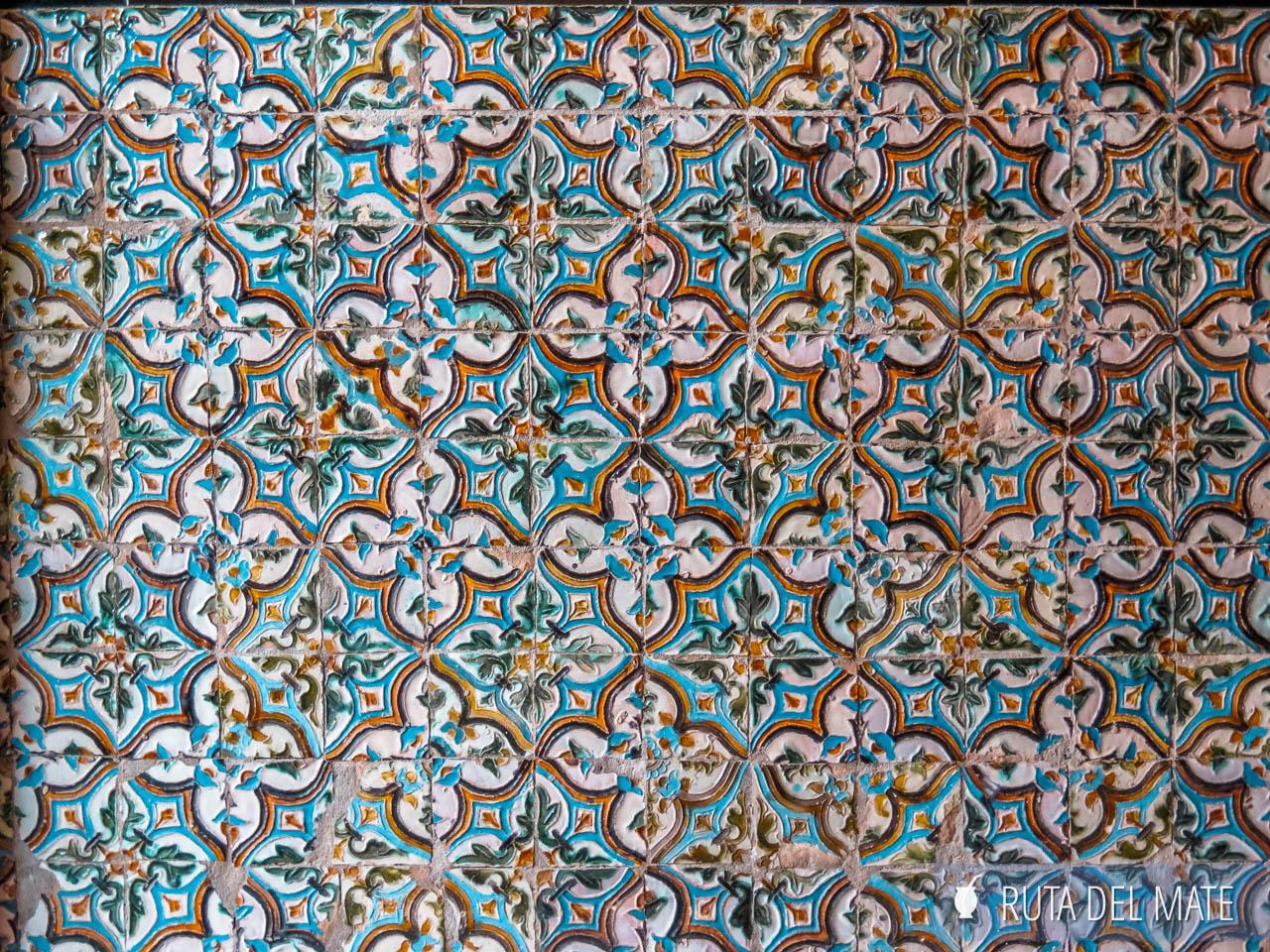 Azulejos del Real Alcázar de Sevilla