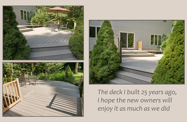 Deck Triptych (shots taken for the real estate to use)