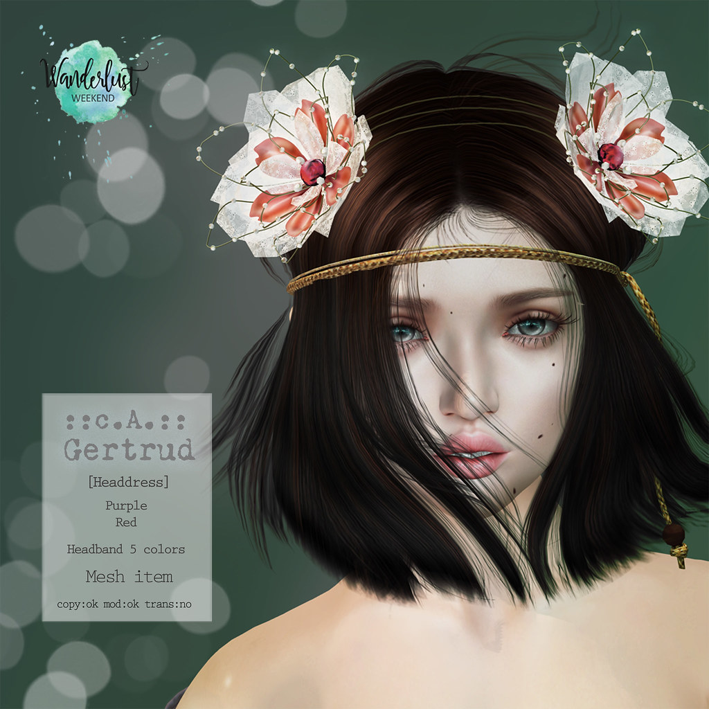 ::c.A.:: Gertrud [Headdress]