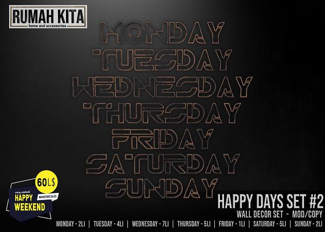 Rumah Kita - Happy Days Set #2