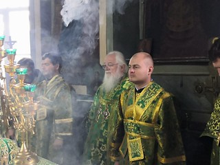 01.08.2020 | Божественная литургия в дер. Подгощи
