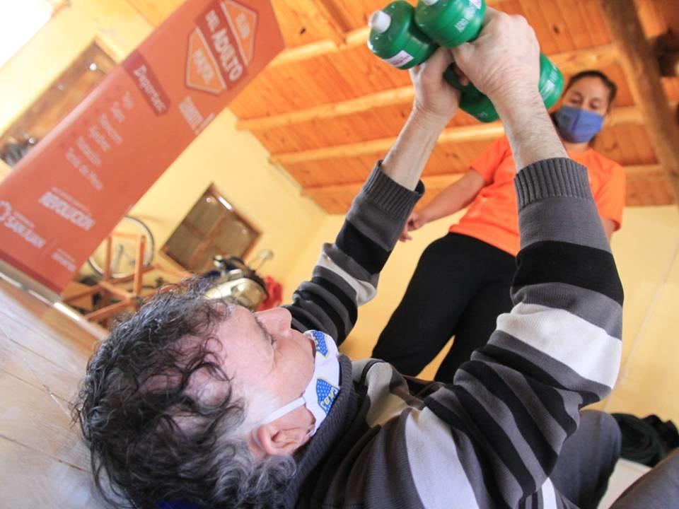 2020-08-01 DEPORTES: Voluntarios x los Abuelos cerró la semana del deporte