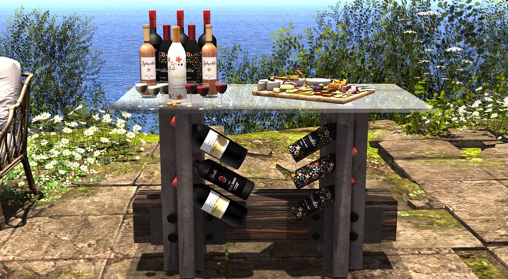60L Wine tasting table set!