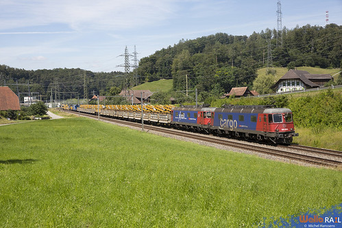 Re 620 078 + Re 620 088 . SBB Cargo . Wynigen . 18.07.20.
