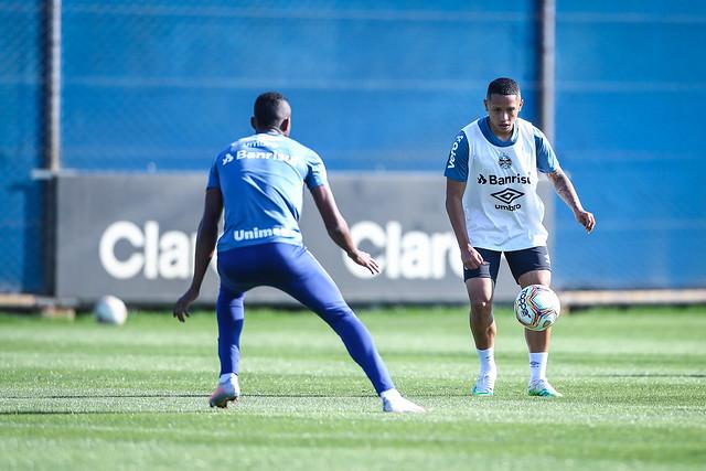 Treino Grêmio 01/08/2020