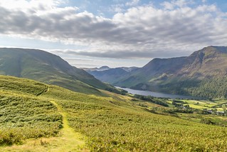 Rannerdale Knotts ridge | by www.andrewswalks.co.uk