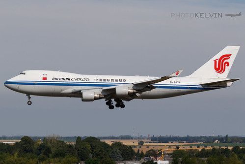 Boeing 747(F) - China Airlines Cargo - B-2475 | by Kelvin Jahae