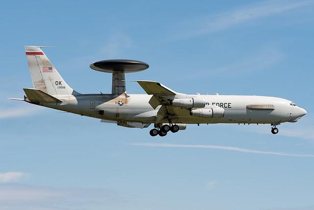 Boeing USAF E-3G 82-0006 / OK