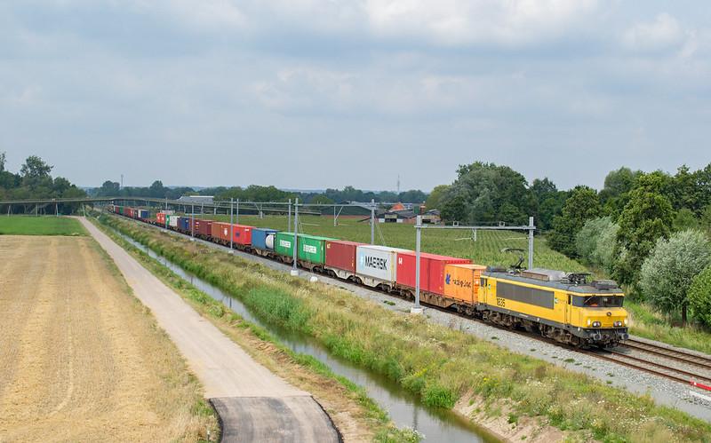 Bentheimer Eisenbahn E01 (1835) + Coevorden shuttle, Elst, 01-08-2020