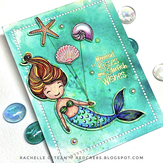 Swimming By - Mermaid