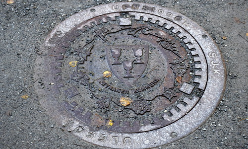 Manhole cover, Jevnaker municipality