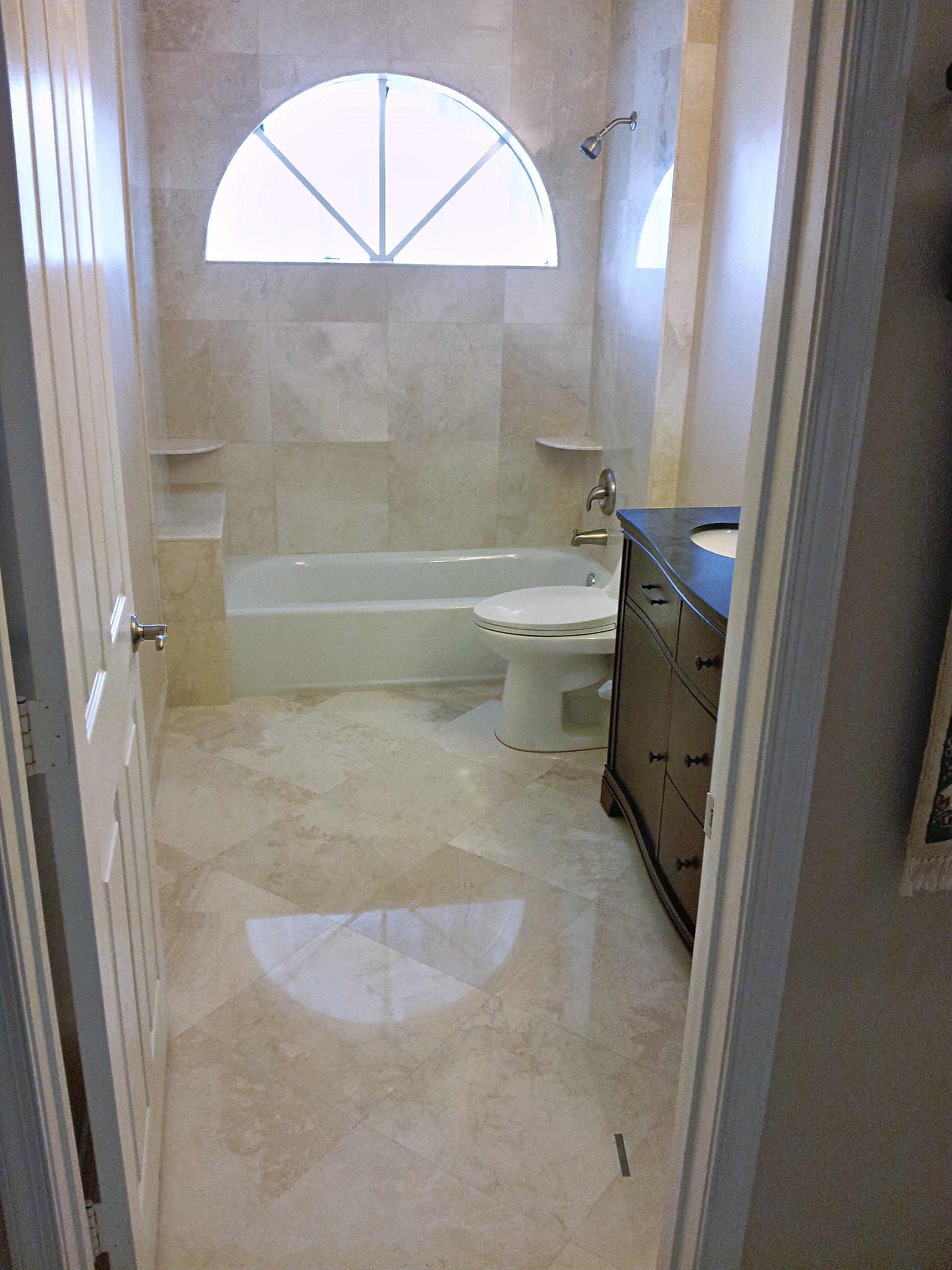 entire bathroom