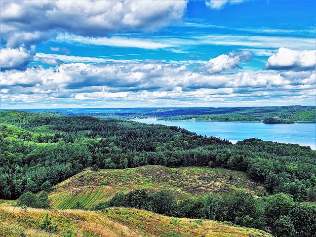 view over lake Julsø