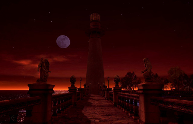 2020-08-01 Lighthouse at Winter Moon