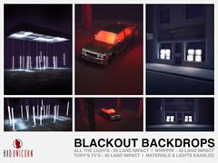 NEW! Blackout Backdrops @ LEVEL