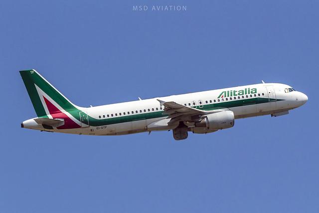 Airbus A320-216 EI-DTF Alitalia
