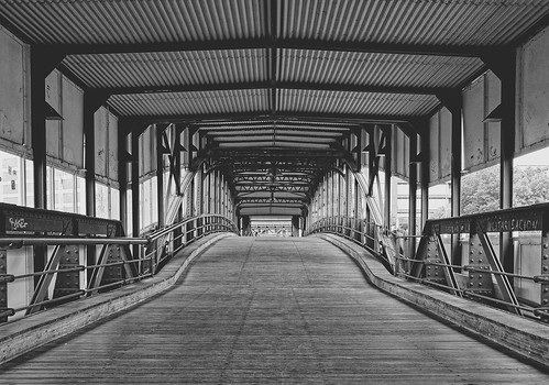 blackandwhite bridge hamburg fujinon1855284lmois view bw whiteandblack architecture cityscape perspective design lines monochrome outside travel fujifilmxt1