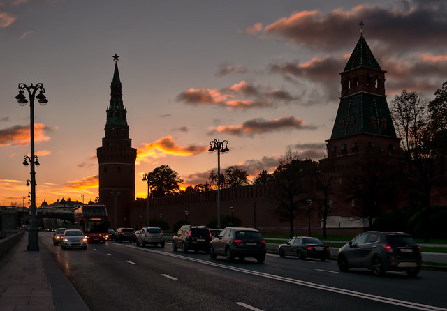 The road near the Kremlin