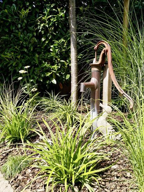 Pomp landelijke tuin