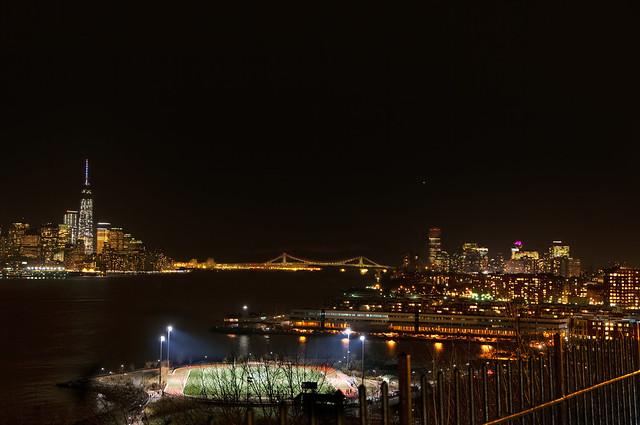 Soccer Field on the Hudson River