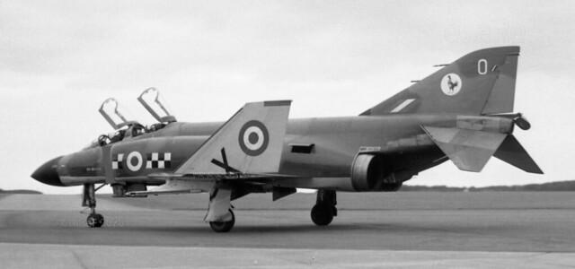 XV578 McDonnell Douglas F-4K Phantom FG.1 msn 3180  O 43Sq