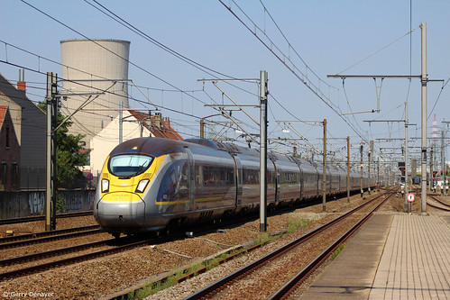 Eurostar 4031 / 4032 @ Ruisbroek | by Gerry Denayer