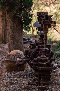 Arcosonti, yardwork