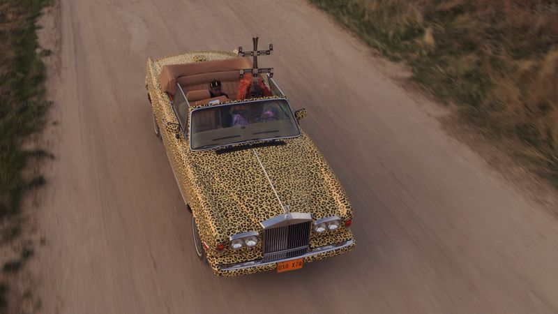 Simba Rolls Royce car