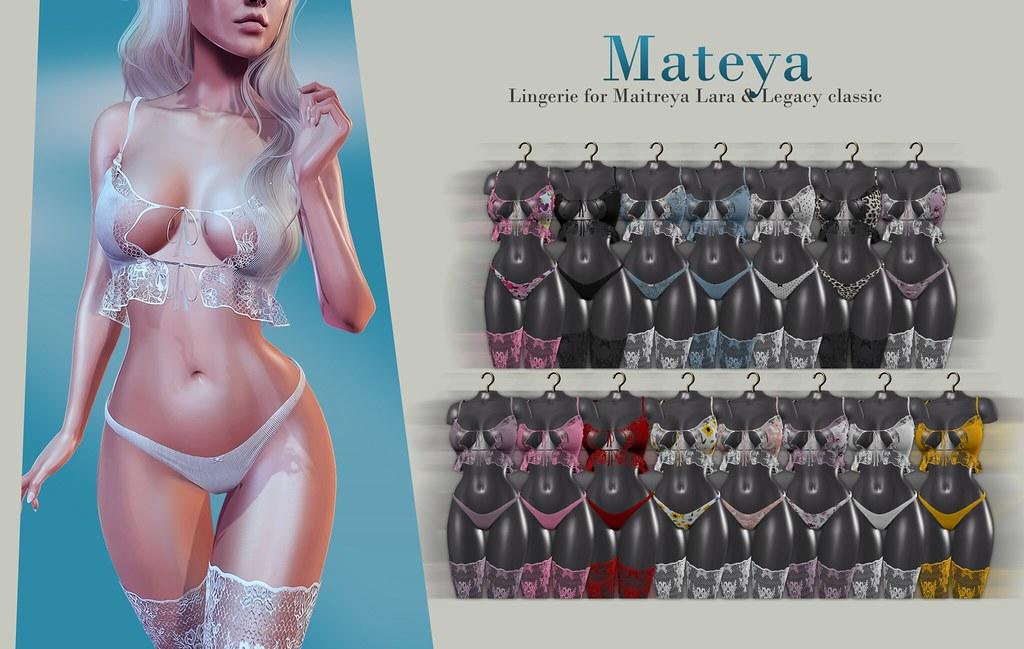 Mateya lingerie + GIVEAWAY