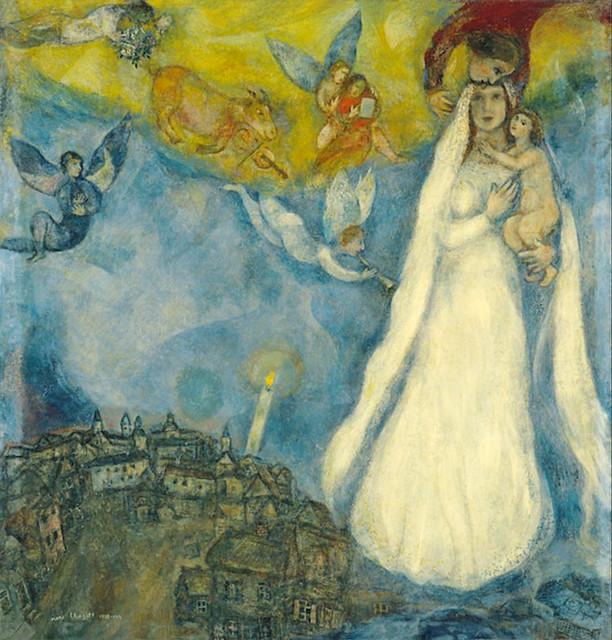 La Madone du village (Chagall)