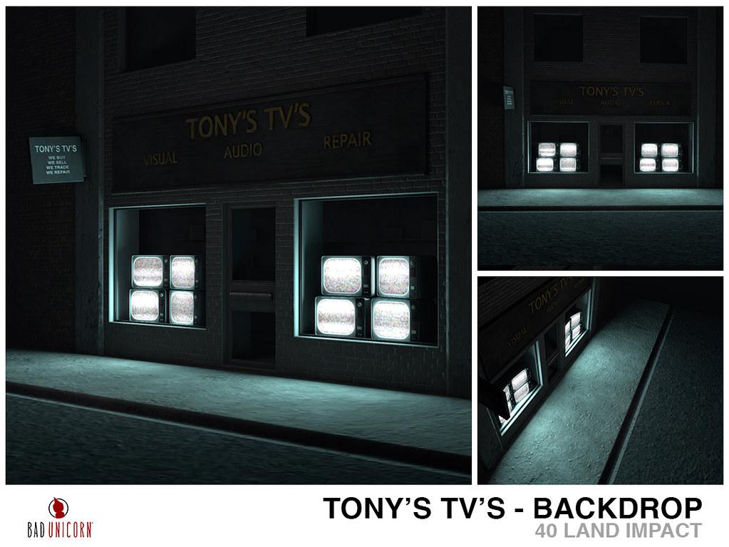 Tonys TVs Backdrop