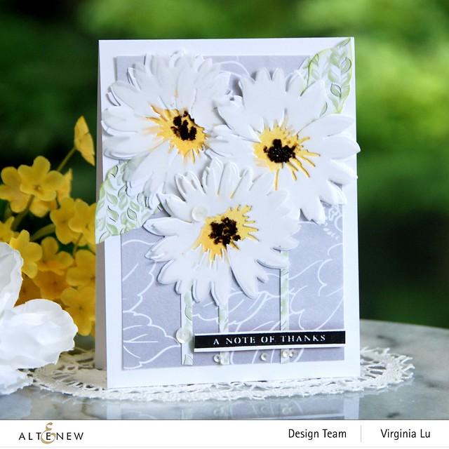 Altenew-Craft-a- Flower Daisy-Celebrate Paper Pad-0808 2020 (3)