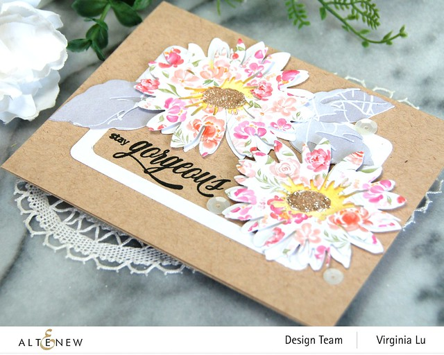 Altenew-Craft-a- Flower Daisy-Rounded Rectangles-Celebrate Paper Pad-809